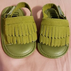 Brand new never worn baby sandals